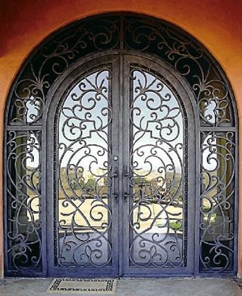 درب ضد سرقت فلزی یا چوبی